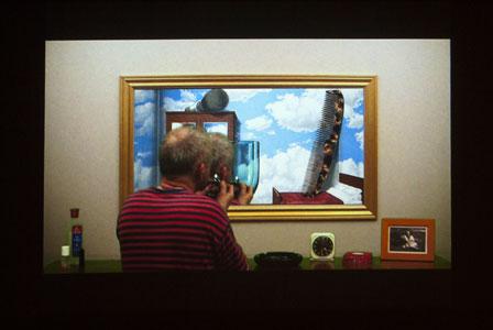 Daniel Olson, Le Miroir de Magritte (2010)