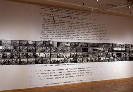 Gilles Peress, Le silence (1996)