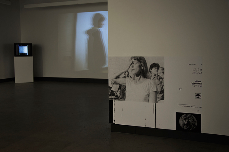 © D'un discours qui ne serait pas du semblant/ Actors, Networks, Theories (2014). Vue de l'exposition. Photo : Sara A. Tremblay