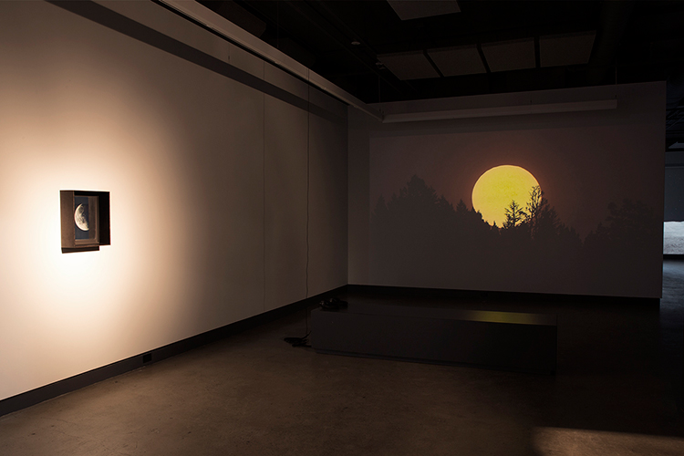 Light Adjustments (2014-2015). Vue de l'exposition. Photo : Sara A. Tremblay