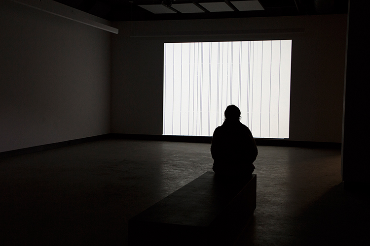 Electronic Sound in a Shifting Landscape (2014). Vue de l'exposition. Photo : Sara A. Tremblay