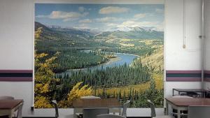 © Douglas Moffat, Cafeteria - Central Emergency Government Headquarters, CFB Carp, Ontario (2015)